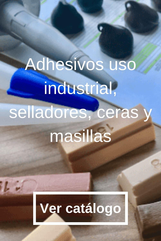 Adhesivo uso industrial, selladores y ceras
