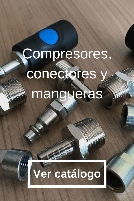 Compresores, conectores y mangueras